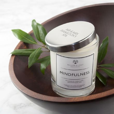 Personalised Mindful / Festive or Sleep Candle